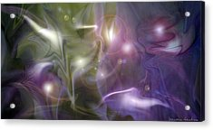 Light Dance Acrylic Print by Jeanean Gendron