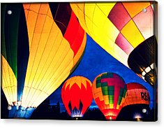 Light 'em Up Acrylic Print by Brian Bonham