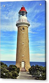 Light House At Cape Du Couedic Acrylic Print by Stephen Mitchell