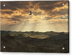 Light In The Valley Acrylic Print by Julie Grace