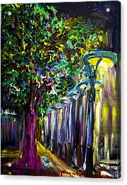 Light On The Street Acrylic Print