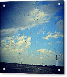 Light Showers In June... #instadroid Acrylic Print by Kel Hill