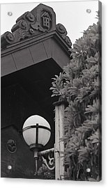 Acrylic Print featuring the photograph Light Under The Ancient Eves. by Craig Wood