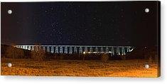 Lighted High Level Bridge Acrylic Print