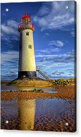 Lighthouse Acrylic Print by Adrian Evans
