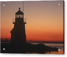 Lighthouse At Sunrise Acrylic Print by Axiom Photographic