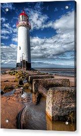 Lighthouse Entrance Acrylic Print by Adrian Evans