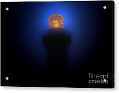 Lighthouse Glow Acrylic Print by Joanne Kocwin