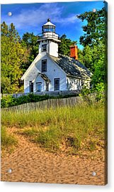 Lighthouse Home Acrylic Print by Coby Cooper