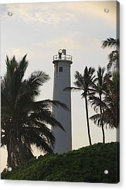 Lighthouse In Hawaii Acrylic Print