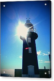 Acrylic Print featuring the photograph Lighthouse In The Sunlight by Roberto Gagliardi