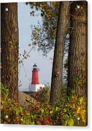 Lighthouse Mist Acrylic Print