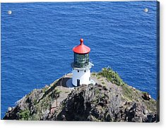 Lighthouse Acrylic Print by Natalija Wortman