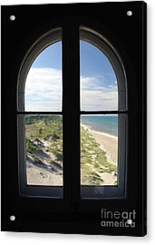 Lighthouse Window Acrylic Print