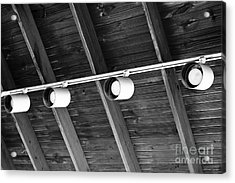 Acrylic Print featuring the photograph Lighting Design by Lawrence Burry