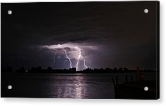 Lightning Flash Acrylic Print