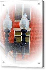 Lights Of Boston Acrylic Print by Marie Jamieson