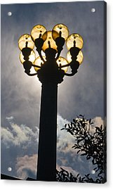 Lights Acrylic Print by Terry Finegan