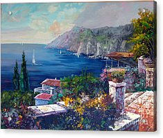 Like A Fairytale - Detail One Acrylic Print by Kostas Dendrinos