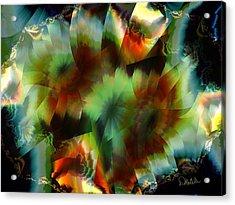 Like Stained Glass Acrylic Print