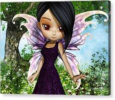 Lil Fairy Princess Acrylic Print by Alexander Butler