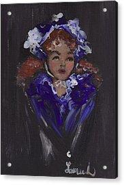 Lil Girl Blue Acrylic Print