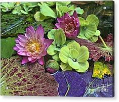Lilies No. 33 Acrylic Print