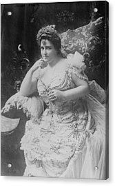 Lillian Russell 1861-1922, The Plump Acrylic Print by Everett