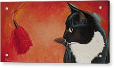 Acrylic Print featuring the painting Mesmerized by Joe Winkler