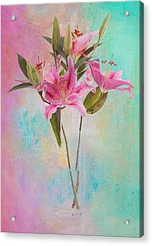 Lily 322a Acrylic Print by James Bethanis