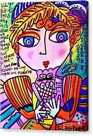 Lily Bart Acrylic Print