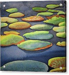 Lily Pad Acrylic Print by Teresa Beyer