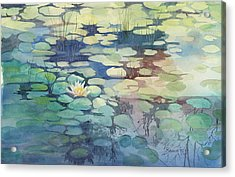 Lily Pond I Acrylic Print