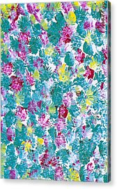 Lily Acrylic Print by Rhetta Hughes