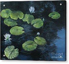 Lilypond Acrylic Print