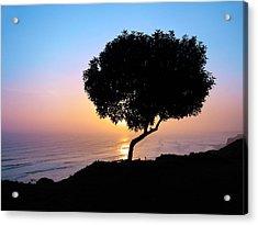 Lima Sunset Acrylic Print by Nicolas Raymond