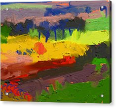 Limburg Landscape Acrylic Print by Nop Briex