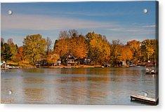 Lime Lake Acrylic Print