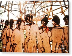 Limelight Acrylic Print by Dev Gogoi