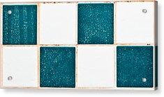 Limescale In Bathroom Acrylic Print by Tom Gowanlock