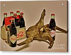 Acrylic Print featuring the photograph Limited Edition Coke by Joe Finney