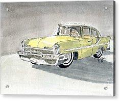 Lincoln Capri 1957 Acrylic Print
