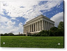 Lincoln Memorial And Sky Acrylic Print