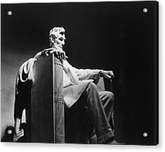 Lincoln Memorial Acrylic Print by Granger