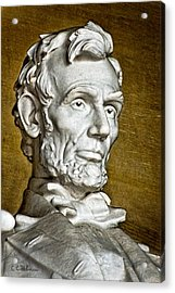 Lincoln Profle 2 Acrylic Print by Christopher Holmes