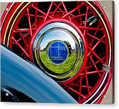 Lincoln V12 Acrylic Print