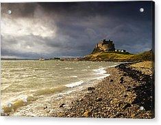 Lindisfarne Castle, Holy Island Acrylic Print by John Short
