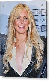 Lindsay Lohan In Attendance For Gotti Acrylic Print by Everett
