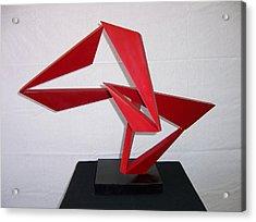Lindy Acrylic Print by John Neumann