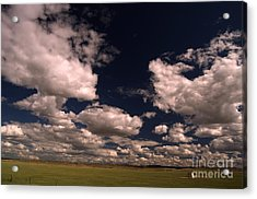 Line Shack  Acrylic Print by The Stone Age